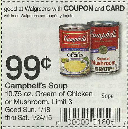 Campells Chunky Soup Coupons - ongoing free (1)