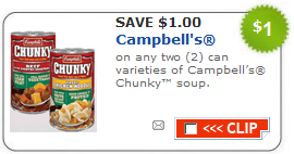 Campells Chunky Soup Coupons - ongoing free (2)