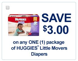 Free printable huggies diaper coupons 2018