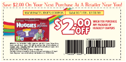 Huggies Nappies Diapers coupons - Ongoing (3)