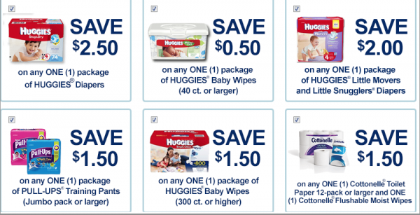 Huggies Nappies Diapers coupons