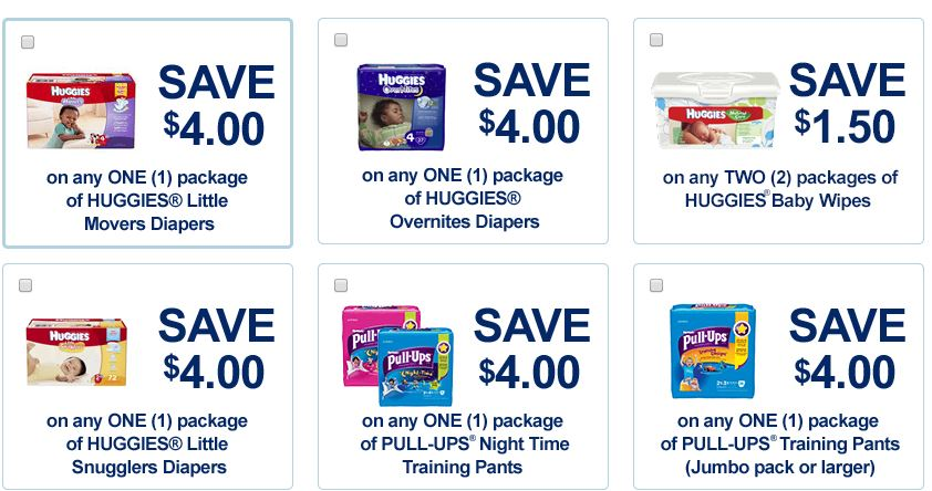 Huggies Overnight diapers coupons - ongoing (1)