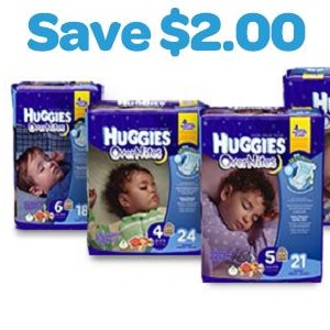 Huggies Overnight diapers coupons - ongoing (4)