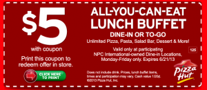 Pizza Hut Printable Coupons printable - Download free (3)