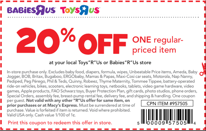 Oct 01,  · Online: Babies R Us is having a 4 day super sale plus save 15% off regular priced items with code: SAVE15 at checkout. $ Off Greco Car Seats Online Only: Get $ off instantly on Graco 4Ever All-in-One Convertible Car Seat (Cameron). $8 Off Any Pampers Value Box Printable Coupon: $8 discount on any Pampers value box regularly priced ea.5/5(26).