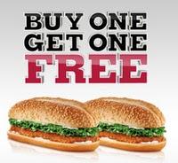 PrintableBurger King Fast Food Restaurants Coupons BOGO