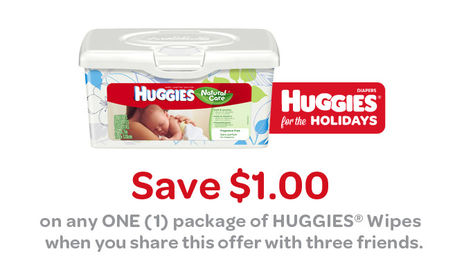 Coupon deals on baby wipes