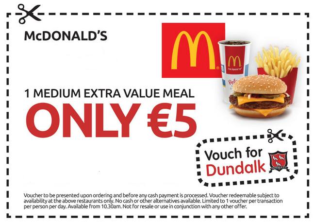 Free Mcdonalds Coupons Printable