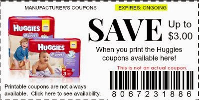 printable coupons huggies diapers for moms