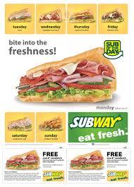 printable subway coupon 2015