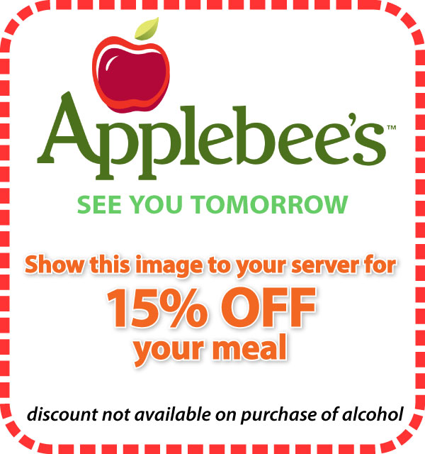Applebees discount coupons