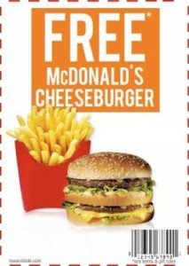 Mac d discount coupons