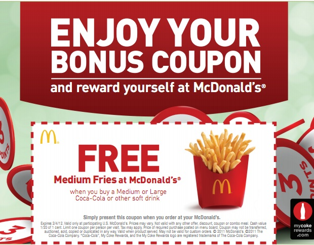 Jan 01,  · McDonald's is a fast-food restaurant chain, serving breakfasts, burger meals, hot drinks and desserts. To save money on eating out at McDonald's, you can use coupons or collect stickers during their Monopoly event.