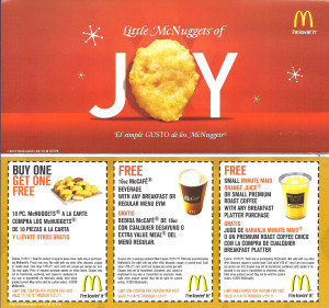 Mcdonalds Coupon Booklet free  (3)