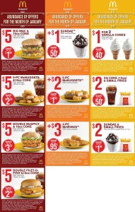 Mcdonalds Coupon Booklet free  (4)