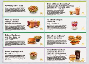 Mcdonalds Coupon Booklet free  (5)
