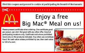 NEW McDonald's Sandwich Coupons (1)