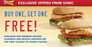 Sonic digital coupons