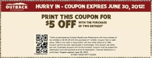 The Outback steakhouse ccoupons printing (2)
