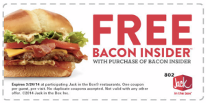 bacon insider jack in the box coupons