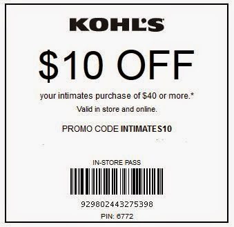 Khols coupon codes