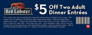 free red-lobster coupon