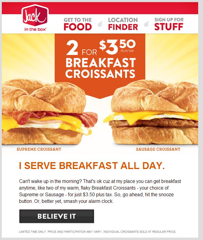 photograph relating to Jack in the Box Printable Application known as Coupon codes for Jack inside of the box Printable Coupon codes On the internet