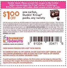 Dunkin Donuts Coupons Mobile Codes (1)