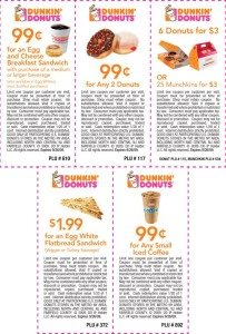 Dunkin Donuts Coupons Mobile Codes (2)