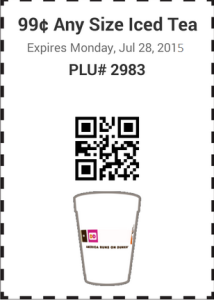 Dunkin Donuts Promo Codes Coupons (3)