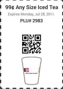 Dunkin Donuts Promo Codes Coupons (4)