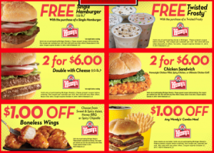 New Wendy's Coupon 2015 - August  (2)