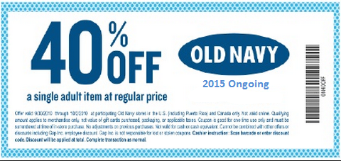Old Navy Coupons - Free Coupon (1)