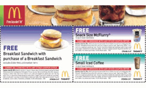 Printable-Free Mcdonalds McCafe Coupon