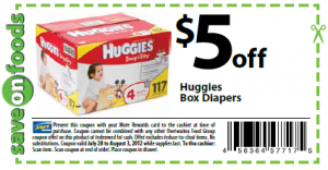 Printable baby pulup coupons- papmers