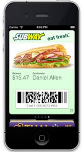 Subway Mobile Coupon Codes - For Menu Items  (2)