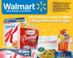 get wallmart coupons - food and grocery
