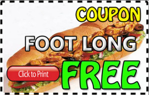 The world famous company offers monthly special deals such as buy one get one sandwich free for a limited time. Such great promotions are commonly posted on the Subway website. E-mail newsletters are also available through the Subway websites, as customers can receive updates about special coupons and deals on sandwiches.