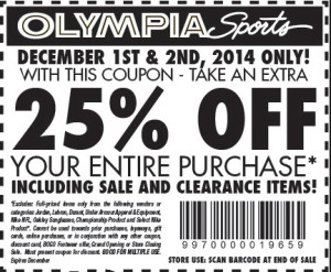 25 off olypia sports coupons (1)