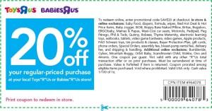Babies R Us Coupons Promotional Code USA