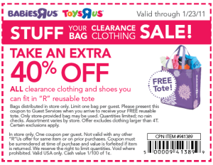 Babies R Us Coupons codes toysrus
