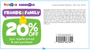 Babies R Us and Kids R Us Coupons - Valid and new  (3)