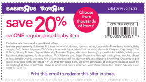 Babies R Us and Kids R Us Coupons - Valid and new  (4)