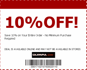 Printable Olympia Sports Coupons