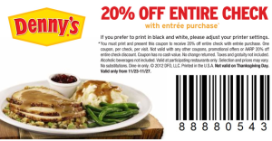 Updated and new Dennys Coupons Printable (1)