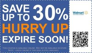 walmart- eprcent coupon-code printable- 30 off