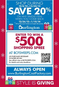 Active Burlington Coat Factory Coupons