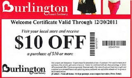 Burlington coat factory printable coupons oct 2018