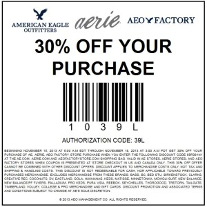 American Eagle Coupons Printable Coupons Online O13V8xyZ