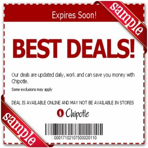 Chipolte Coupons - Print and Mobile  (8)